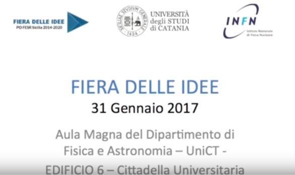 """""""FIERA DELLE IDEE"""" PO FESR SICILY 2014-2020"""