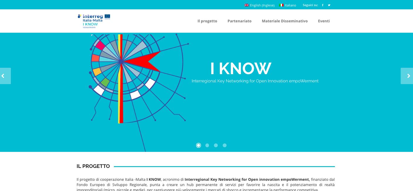 I KNOW-progetto di cooperazione Italia -Malta